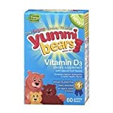 Yummi Bears Vitamin D3, 60-Count Bottle (Pack of 2) Review