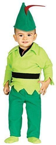 Baby Boys Girls Robin Hood Fairy Tale Book Day Hero Villain Fancy Dress Costume Outfit 6-12 & 12-24 Months (12-24 -