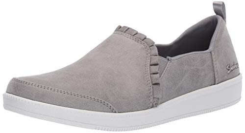 (Skechers Women's Madison Ave-City Soul Sneaker, Grey, 10 M US)