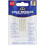 DMC 6129 Tapestry Hand Needles, Gold