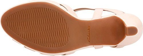 Clarks Women's Mayra Poppy Slingback,Dusty Pink Cow Full Grain Leather,US 9 M