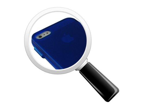 Avcibase 4260344982189 coque de protection en silicone tPU pour apple iPhone 5/5S bleu