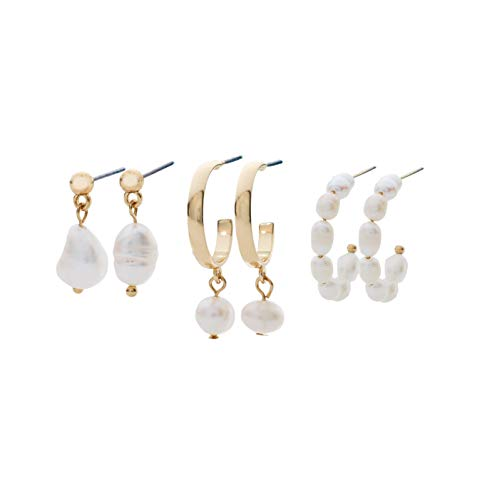 Stella and Haas pearl earring set