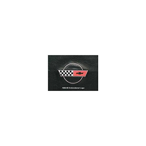 Eckler's Premier Quality Products 25-111174 Covercraft Nose Mask, Full, With Embroidered Logo  ME-41405 Corvette -