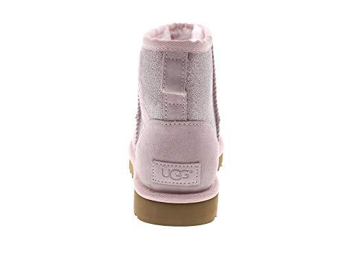 pink seashell Booties SPARKLE Damen UGG MINI CLASSIC gYwHgPx