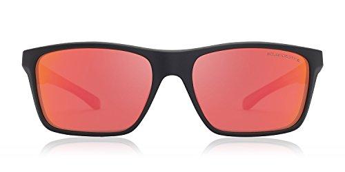 amp; Lunettes Exclusive Square Noire Rouge soleil Collection Opale Hype femme homme Curve Square polarisées amp; de CLANDESTINE t8wqS8