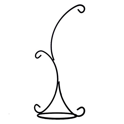 Hanging Stand - Archi Ornament Display Stand Iron Pothook Stand for Hanging Glass Terrarium (Iron Stand)
