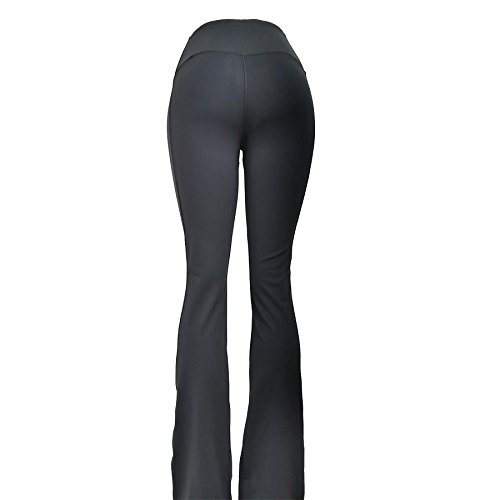 Victoria's Challenge Tummy Slimmer Compression Flare Boot Cut Petite Big Tall Black Pants VCYP06 VC6F