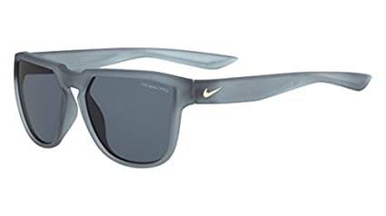 a073131d3bd43 nike golf fly swift sunglasses, matte wolf grey/gold frame, dark ...