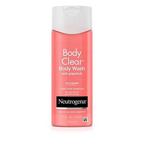 Neutrogena Body Clear Pink Grapefruit Body Wash, 8.5 Fluid Ounce - 12 per case.