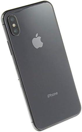 Apple iPhone X, T-Mobile 256GB - Space Gray (Renewed)