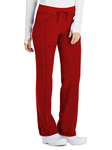 Cherokee Infinity 1123A Low Rise Drawstring Pant Red S ()