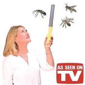 Bug Buster Wand Insect Trapper - As Seen On TV (Spider Trapper)