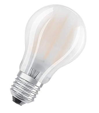 Radium LED Standard A60 - Bombilla LED (regulable, 7,5 W, 2700 K, E27, cristal), color blanco: Amazon.es: Iluminación