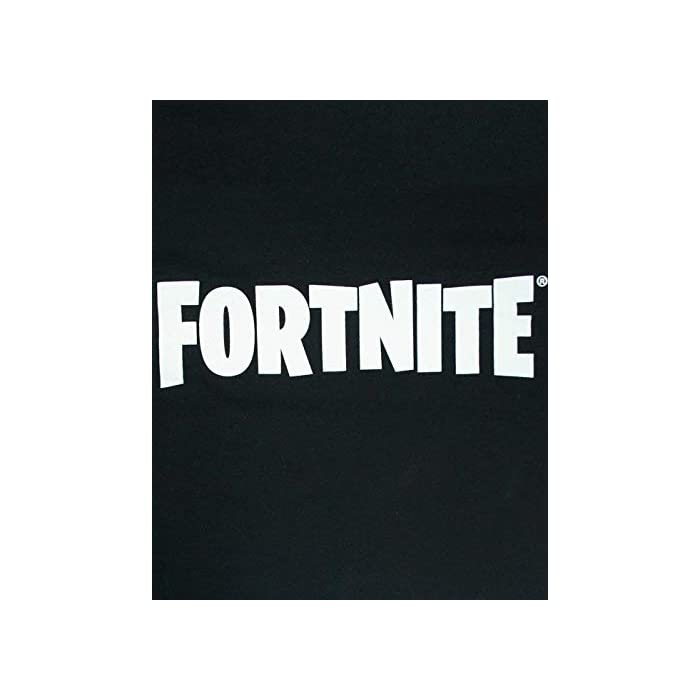 31g0kjd6M2L Official Fortnite merchandise Featuring the iconic logo in white 100% Algodón
