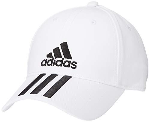 Unisex BlackOsfm 6p CottoCappellino AdultoWhite Adidas Cap 3s Ygmb7yI6vf