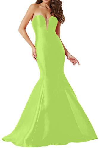 Partykleider Lang mia Gruen TAFT La Einfach Promkleider Abendkleider Braut Lemon Rock Herzausschnitt Meerjungfrau xHY8qwZq