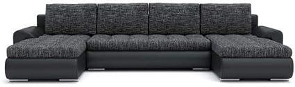 Sofini Ecksofa Tokio III mit Schlaffunktion Cas 567+ Soft 11 Best ECKSOFA Couch mit Bettk/ästen!