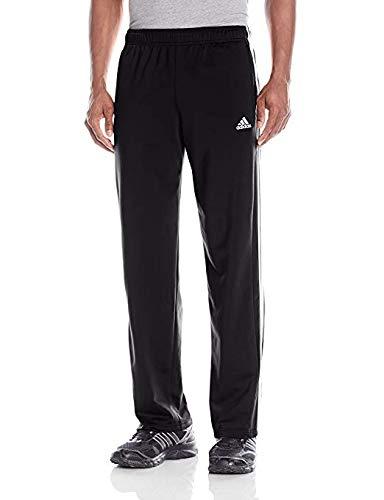 adidas Men Essential Track Pants Black Size M, L, XL (Black/White, X-Large)