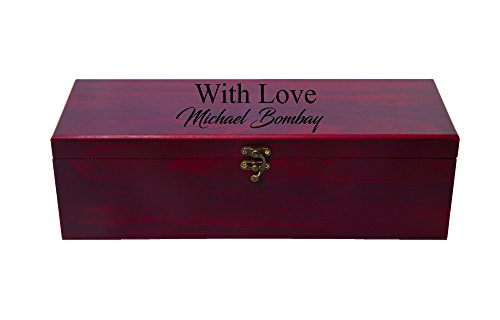 Personalized Custom Wine Box