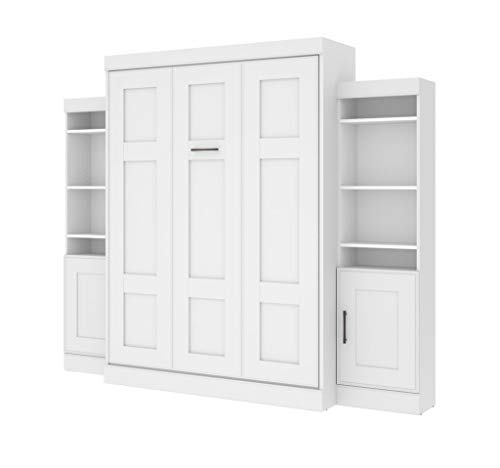 """Queen Wall Bed and 2 Storage Units (107"""")"""