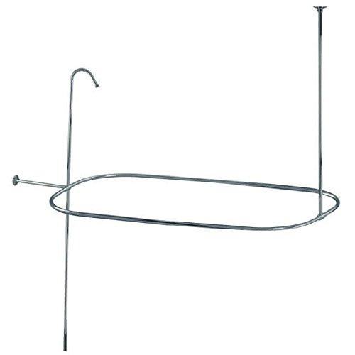 Riser Shower Set - Kingston Brass Shower Curtain Rod/Shower Riser Set