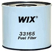Wix 33165 Cartridge Metal Canister Fuel Filter, Pack of 1