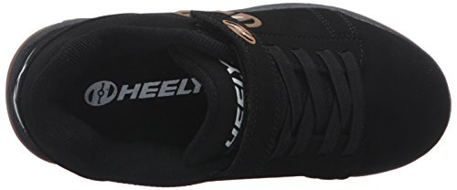 HEELYS Dual Up 770582 - Zapatos 2 ruedas para niños Black/gum