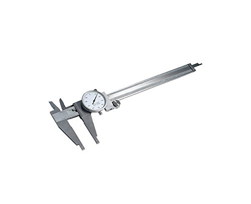 "HHIP 4100-2412 Heavy-Duty Dial Caliper with Cross-Jaws, 0.12"" Range, 0.0015"" Accuracy, 0.001"" Graduation"