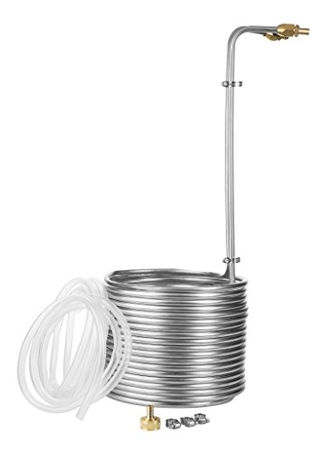 50-Foot-Stainless-Steel-Immersion-Wort-Chiller-with-No-leak-Fittings-and-Accessories