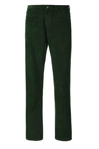 Alexanders of LondonHerren Jeanshose, Einfarbig Grün Olive