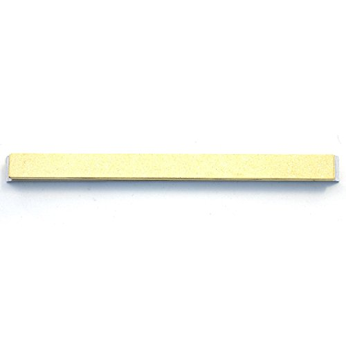 120 grit For Recurve Blades Gritomatic Silicon Carbide 6 x 0.5 x 0.25 Narrow Sharpening Stone with Aluminum Mounting for Edge Pro