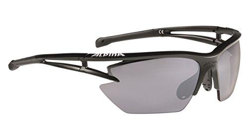Alpina Performance Eye HR 5S cm + Lunettes de soleil taille unique Noir mat