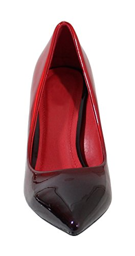 Haut By Talon Femme Style Red Shoes Vernis Black Escarpin wwfqRtP