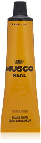 Amber Cream - Musgo Real Shaving Cream - Orange Amber