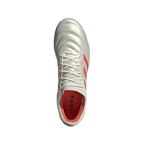 71e26ac8223d adidas Copa 19.1 FG Cleat - Men's Soccer 9.5 Off White/Solar Red/White