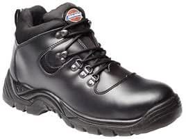FURY SUPER SAFETY HIKER BOOT, BLACK, 8 FA23380A 8 By DICKIES-WORKWEAR