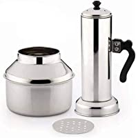 Ankur Micro Puttu Kudam Cooker Stainless Steel Steamer, 0.5 Liter Product Name