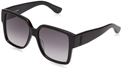 Yves Saint Laurent SL M9 002 55mm Black / Grey Sunglasses