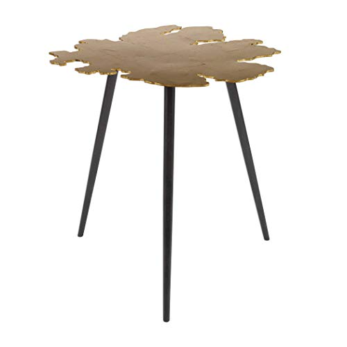 (Uttermost Leaf Accent Table in)