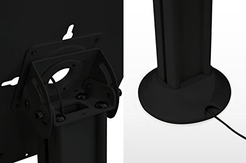 Tablet iPad Floor Stand Kiosk Mount Standing Tablet Holder, Anti-Theft, Anti-Tamper, Lockable Enclosure with Catalogue Holder for Apple iPad 2, 3, 4, Air and Screen Sizes 9.7 In by Mount-It! (Image #7)