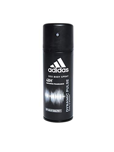 Adidas Dynamic Pulse 24 Hours Fresh Boost Deo Body Spray for Men, 5 Ounce