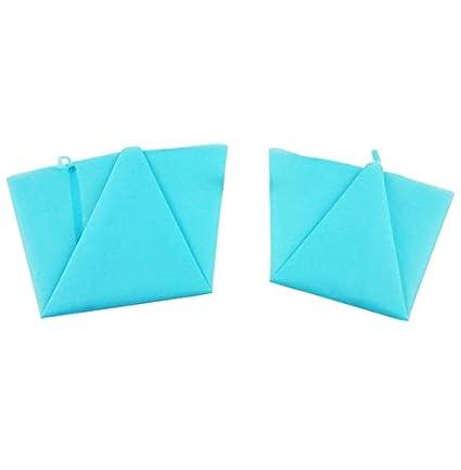 Fazeer 2 Unidades Grandes De Silicona Azul Bolsas De Tubería ...