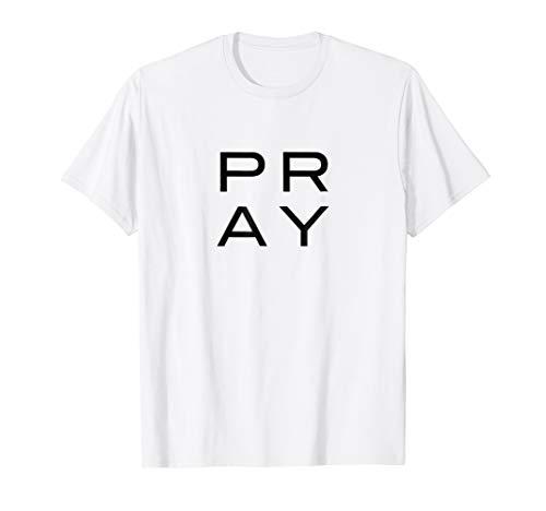 PRAY Graphic Tshirt by High Church Coyote