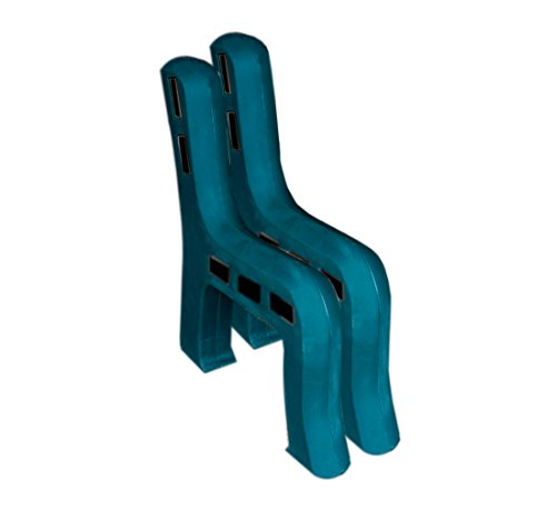 RTS Home Accents DIY Plastic Bench Ends, Green (Wood & Screws Sold Separately) by RTS Companies Inc