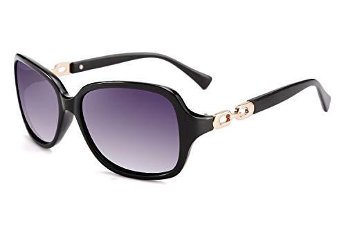 FEISEDY Vintage Womens Polarized Sunglasses 100% UV400 Outdoor Street Fashion Sunglasses B2526