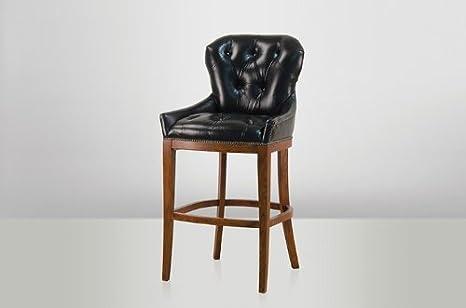 Casa padrino bar in pelle di lusso sgabelli bar sedia sgabello