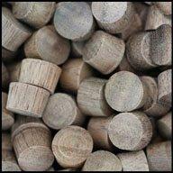WIDGETCO 3/8'' Walnut Wood Plugs, End Grain(QTY 5,000) by WIDGETCO