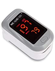 WEALLNERSSE Blood Oxygen Saturation Monitor Fingertip Pulse Oximeter,Oximetry,Respiratory Rate,Pulse Rate Index for Sports Enthusiasts