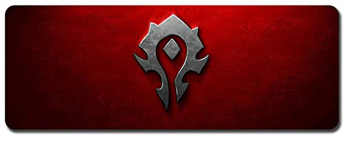 CAIYI Mouse Pad,Professional Large Gaming Mouse Pad, World of Warcraft Mouse Pad,Extended Size Desk Mat Non-Slip Rubber Mouse Mat (2, 800 x 300 x3 mm / 31.5 x 11.8 x 0.12 inch)